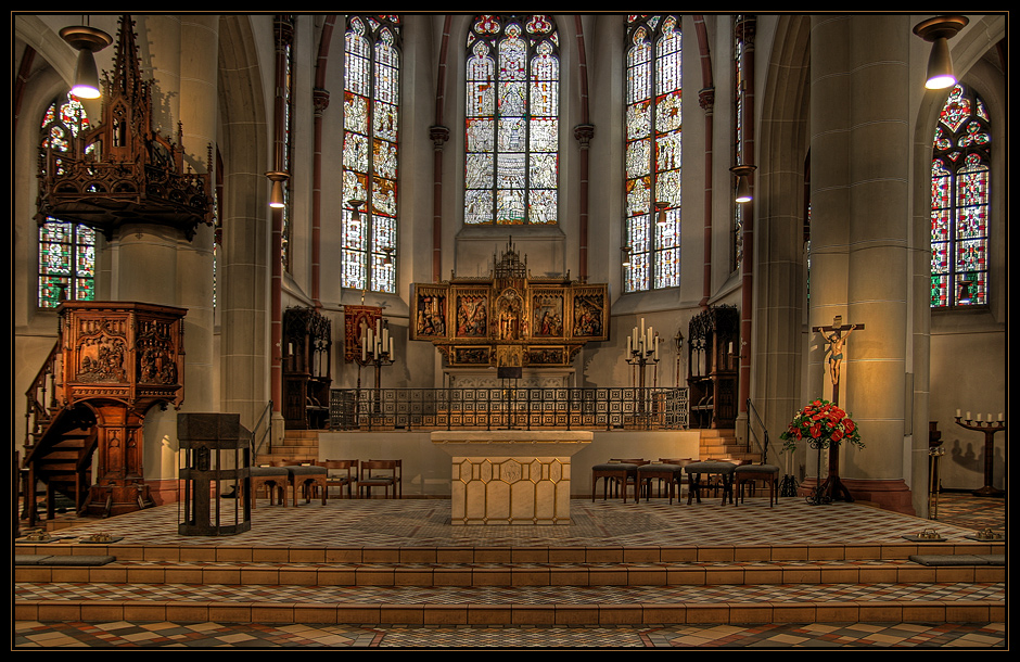 d sseldorfer impressionen sakralbauten d sseldorf eller gertrudiskirche. Black Bedroom Furniture Sets. Home Design Ideas